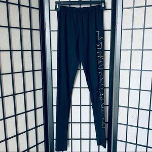 Star Wars black full length leggings sz XS